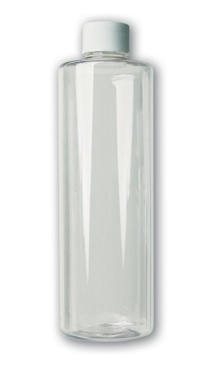 16 oz Clear Bottle#(plastic w/cap)#Item ACC2115