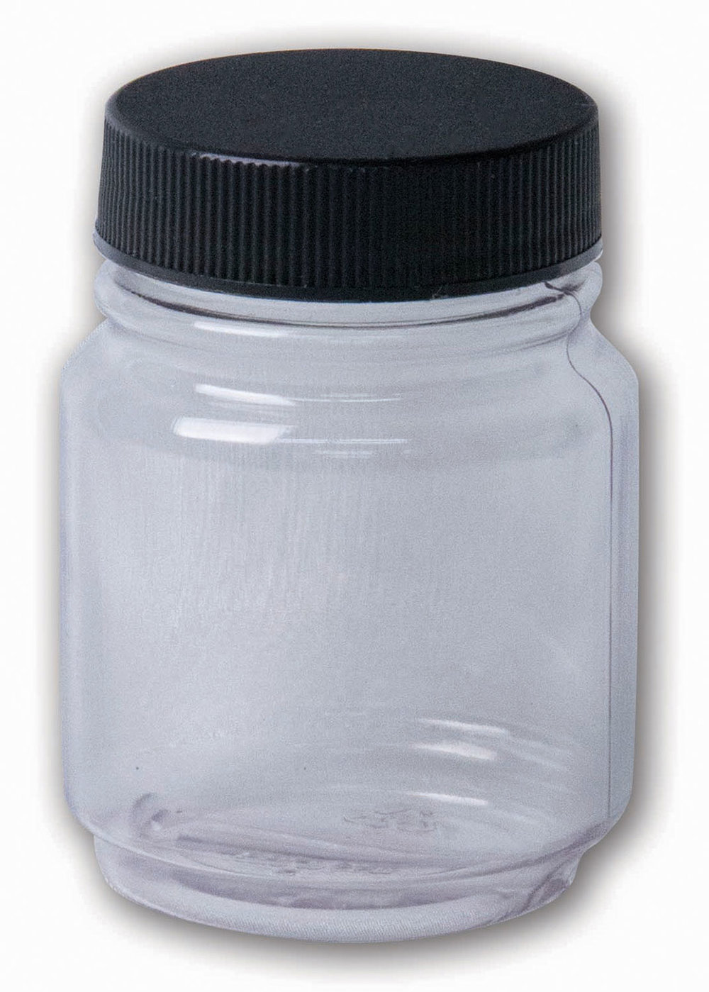 2.25 oz Clear Jar#(plastic w/lid)#Item ACC1793
