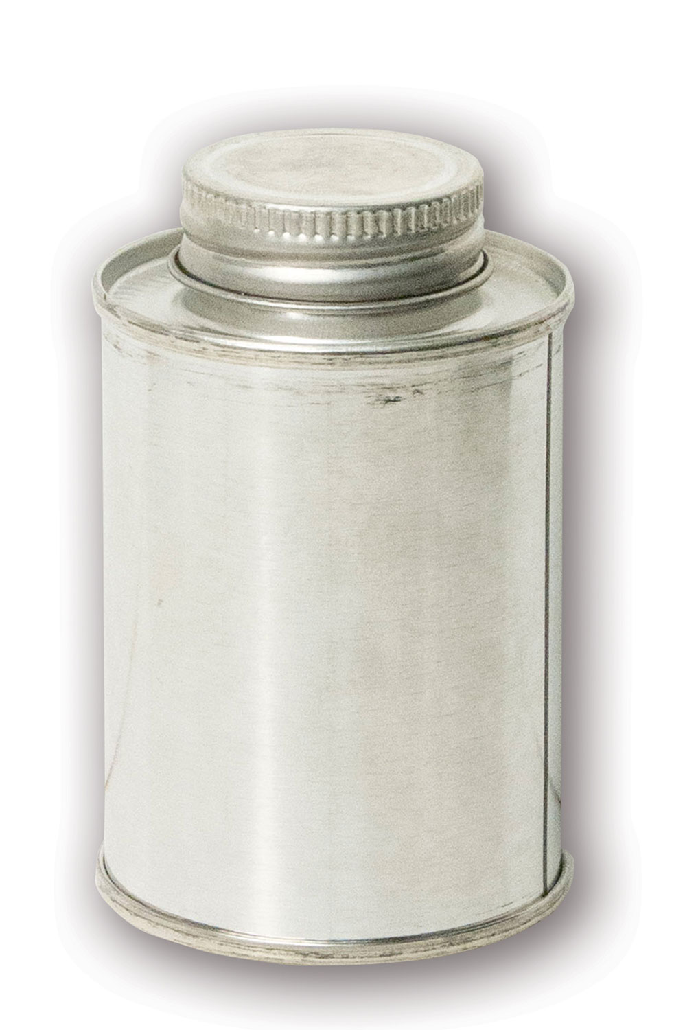 4 oz Metal Can#(stainless steel w/cap)#Item ACC2102