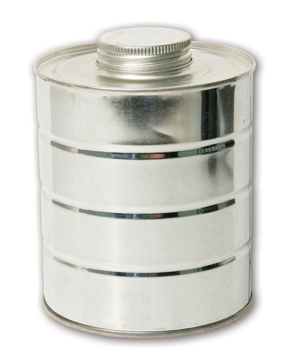 Quart Metal Can#(stainless steel w/cap)#Item ACC2104