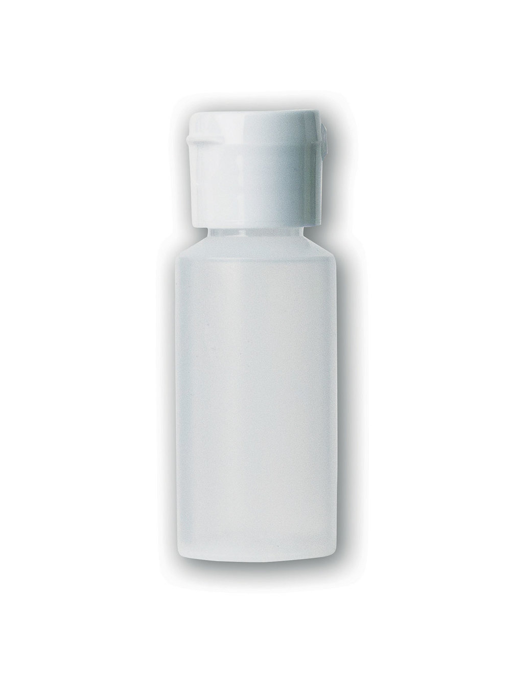1 oz Translucent Squeezable Bottle#(plastic w/flip cap)#Item ACC2121