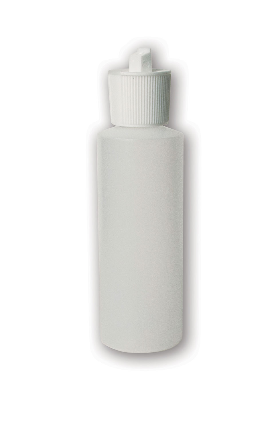 4 oz Translucent#Squeezable Bottle#(plastic w/spout cap)#Item ACC2122