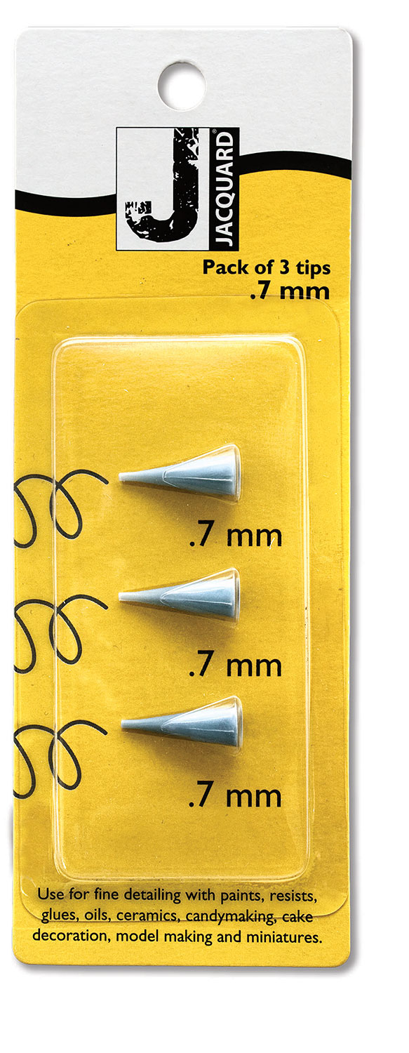 3-Pack 0.7 mm plastic tips<br>Item ACC3005