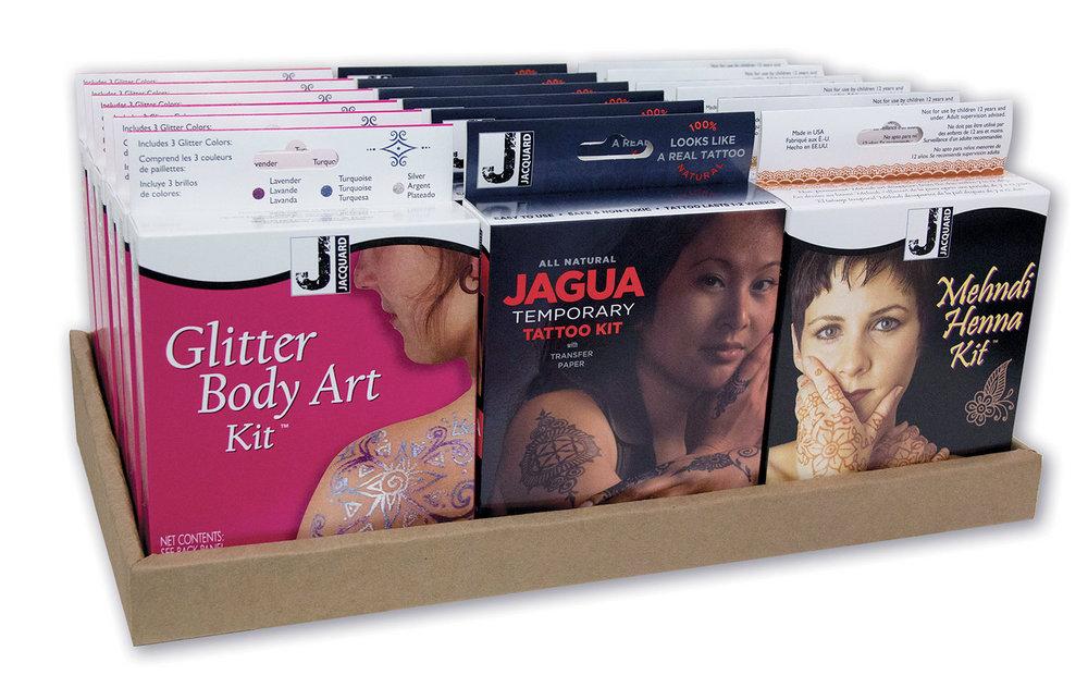 Glitter / Jagua / Mehndi Henna Display