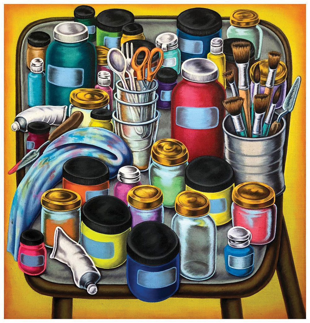 """Paint Table"" Don Pablo Pedro @pedrosname"