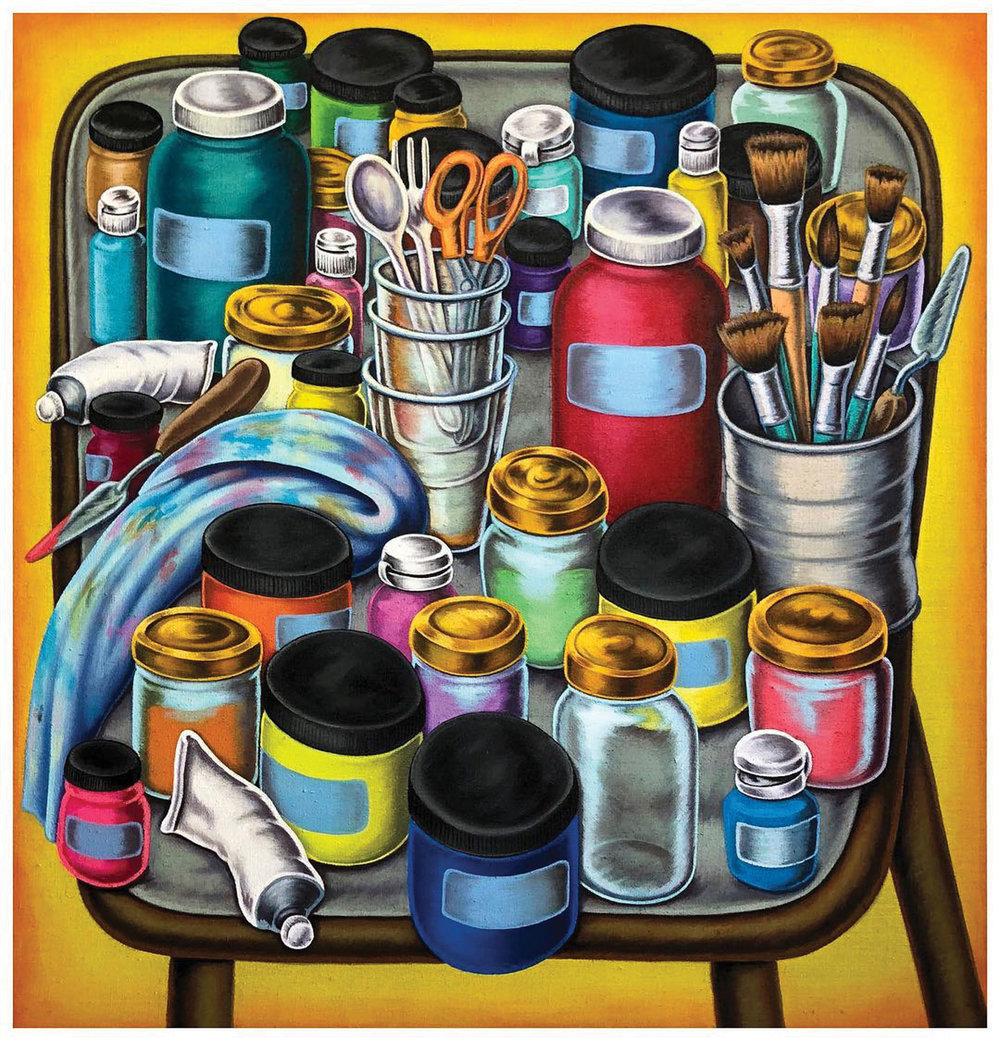 """""""Paint Table"""" Don Pablo Pedro"""