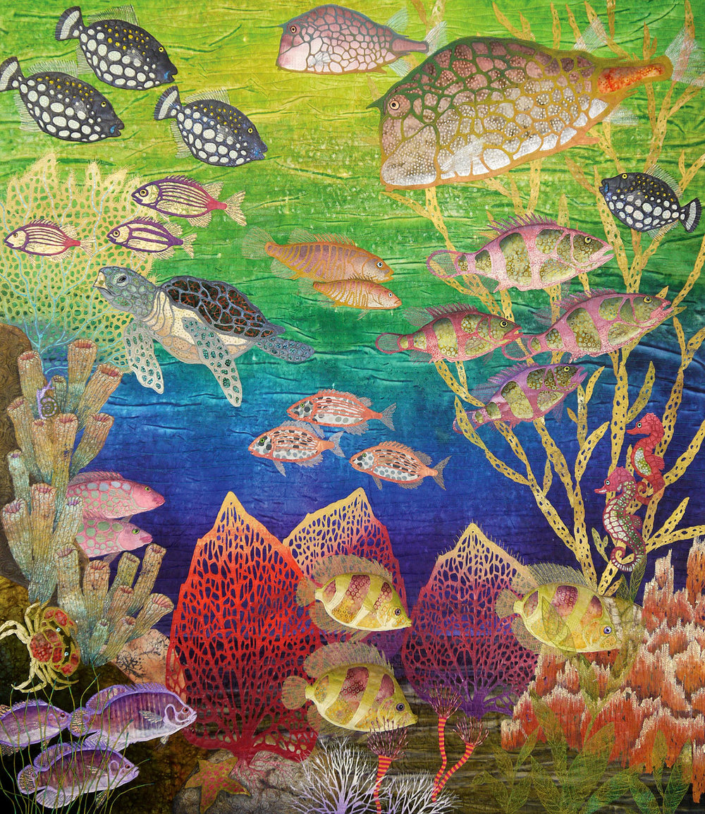 """Coral Sea"" by Betty Busby - bbusbyarts.com"