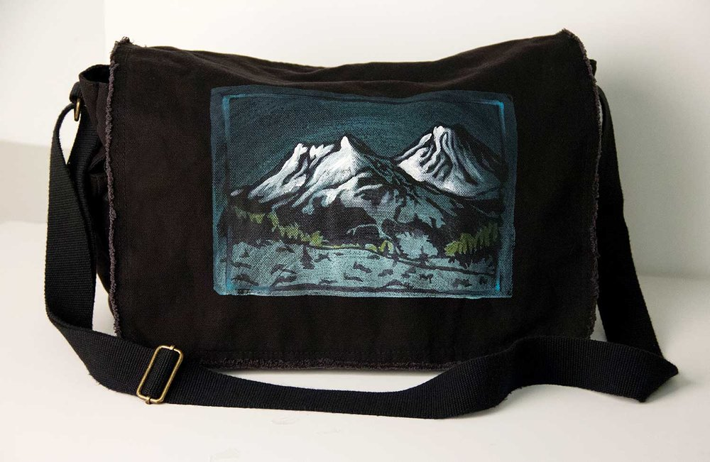 Mountain Messenger Bag by YeahYeah! Pony Prince