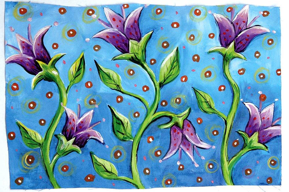 """Lotus"" by Susan Stover @susanstoverart"