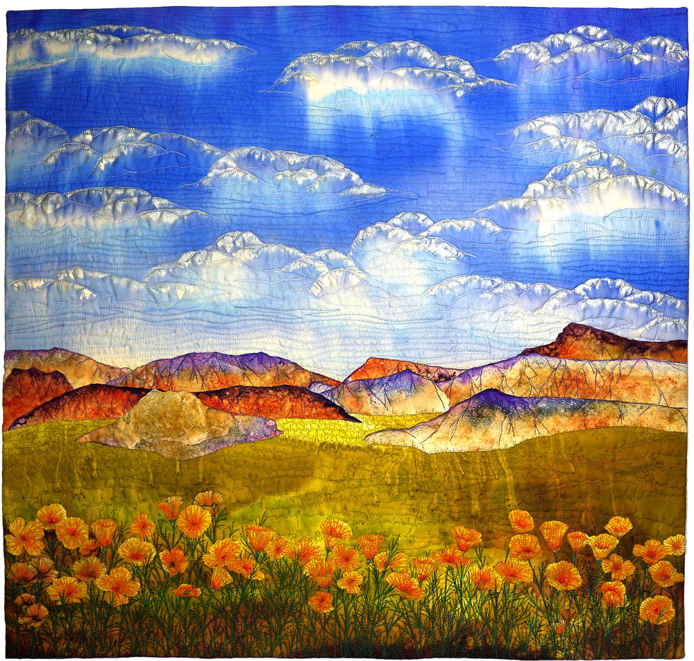 """Cal Poppies"" by Betty Busby - bbusbyarts.com"