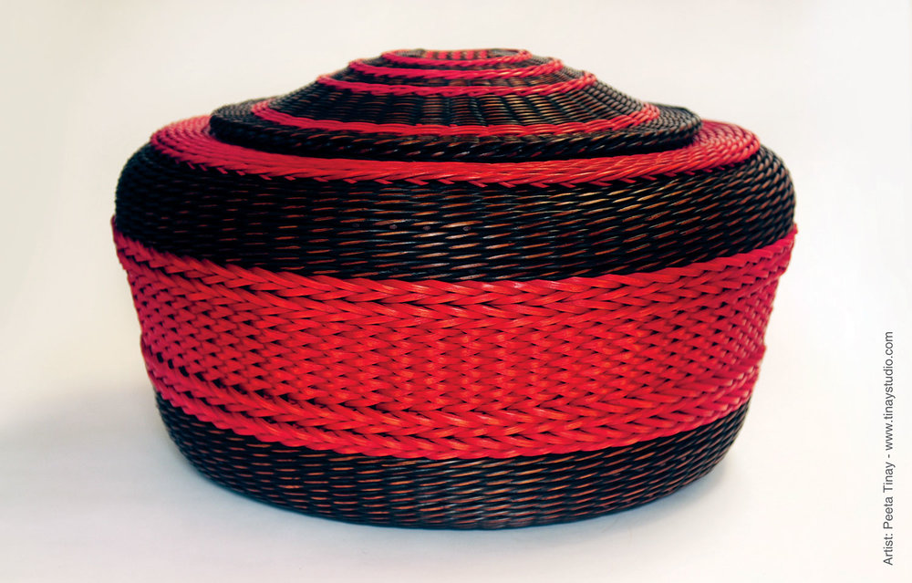 Dyed Basket by Peeta Tinay