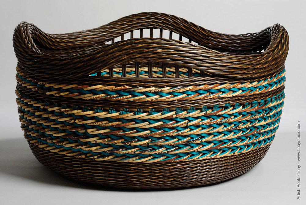 Dyed Basket by Peeta Tinay