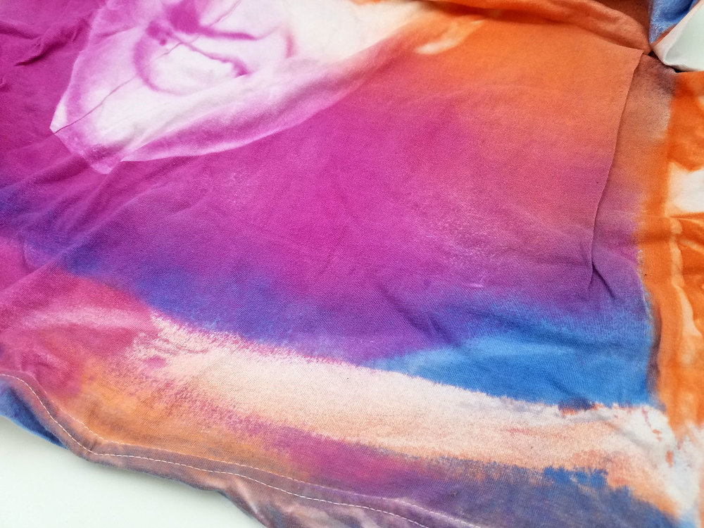 Sprayed SolarFast Dye with YouCAN