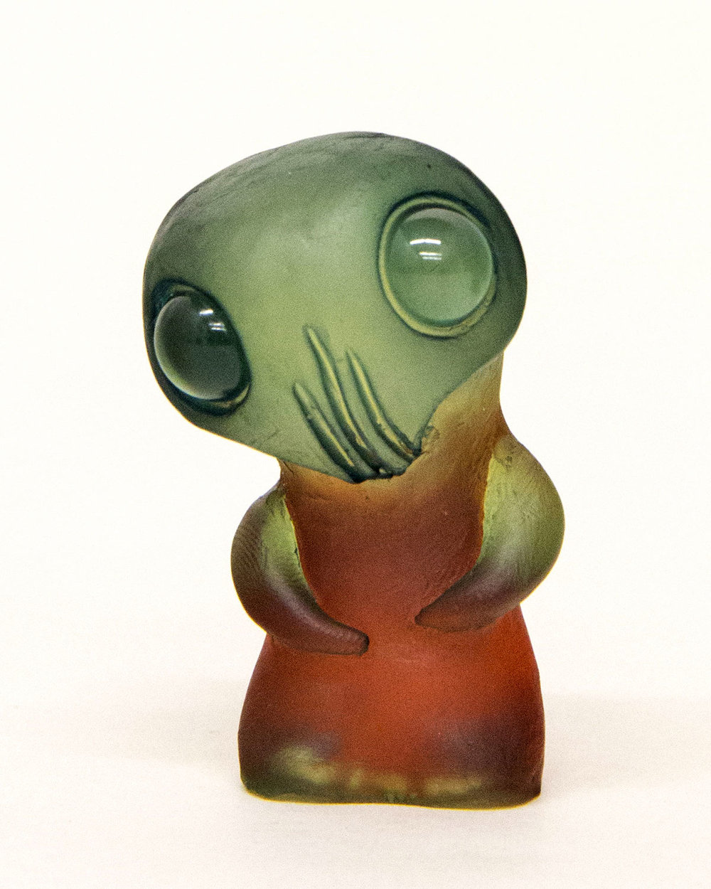 Dyed resin character by Harison Fosle