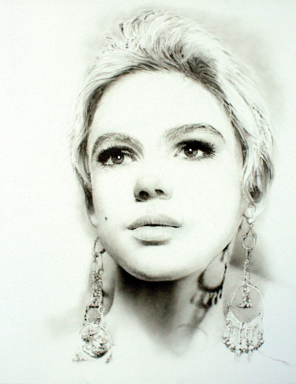 """Edie Sedgwick"" by Troy Pierce"