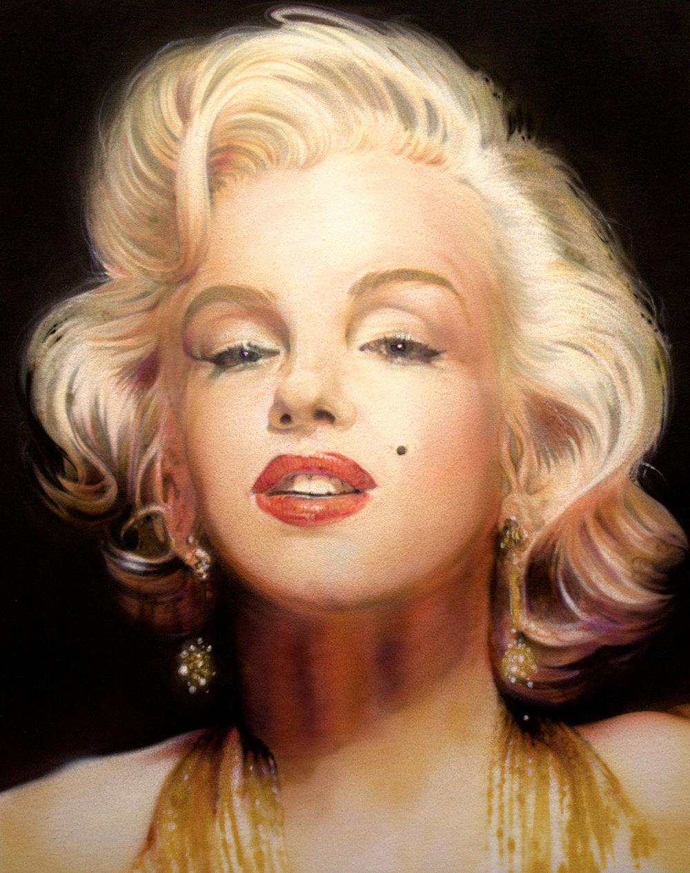 """Her Skin is Marilyn Metallic"" by Troy Pierce"