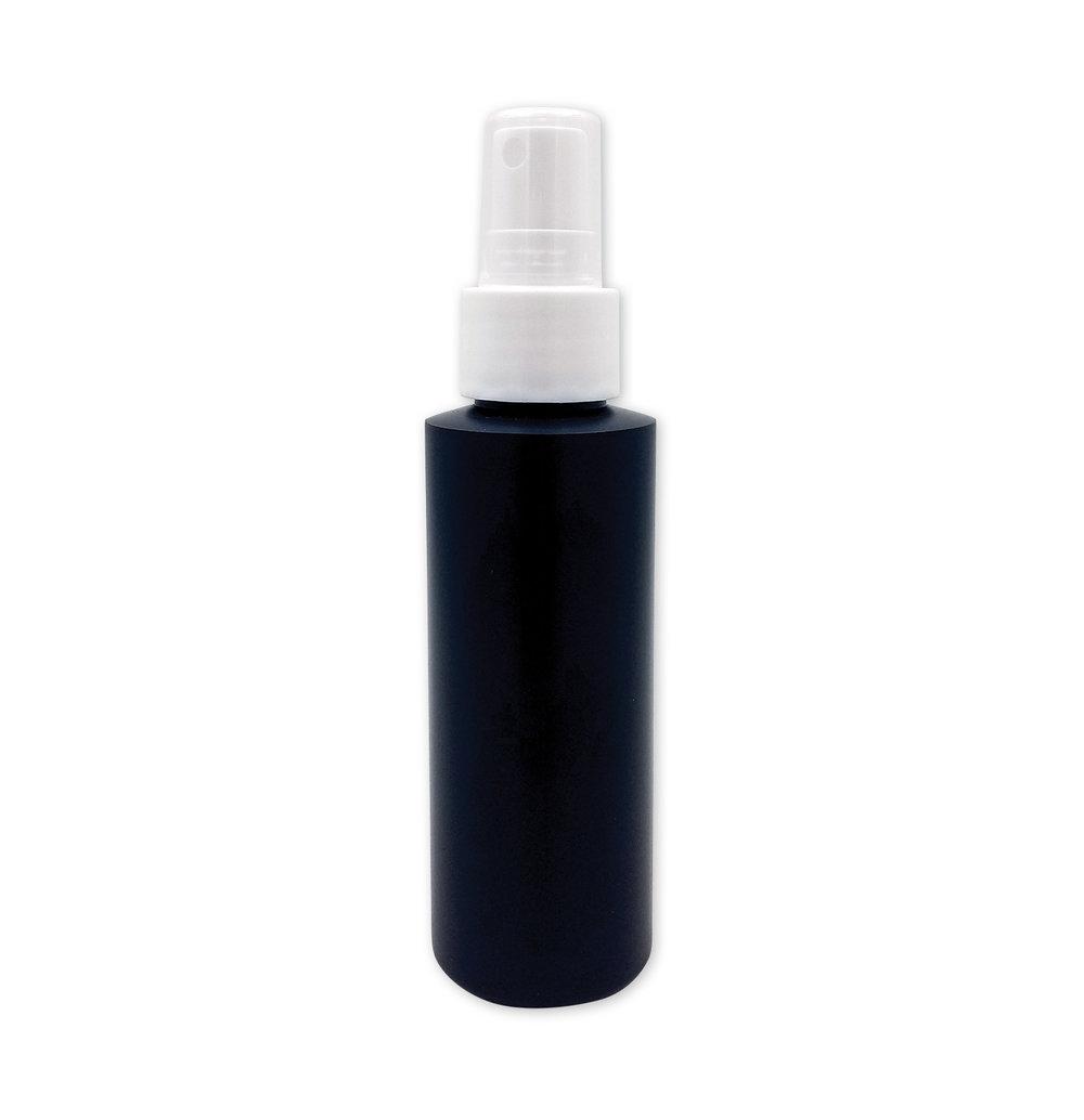 4 oz Opaque Black Mister Bottle#(plastic w/cap)#Item ACC2128