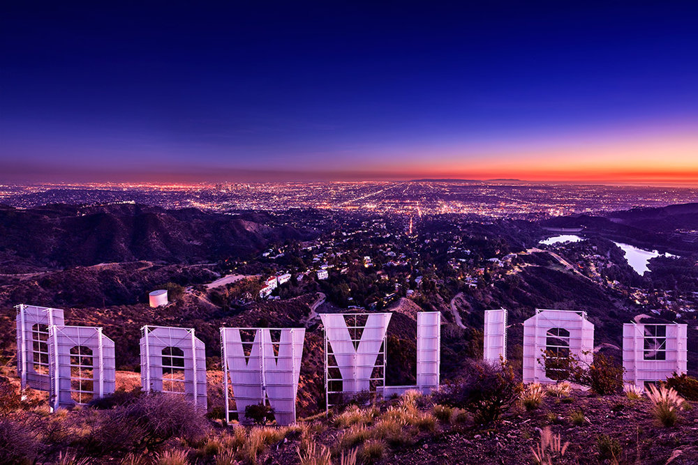 Curtain-Call-By-Paul-Reiffer-Hollywood-Sign-From-Behind-Los-Angeles-LA-Night-Not-For-Resale-Non-Commercial.jpg