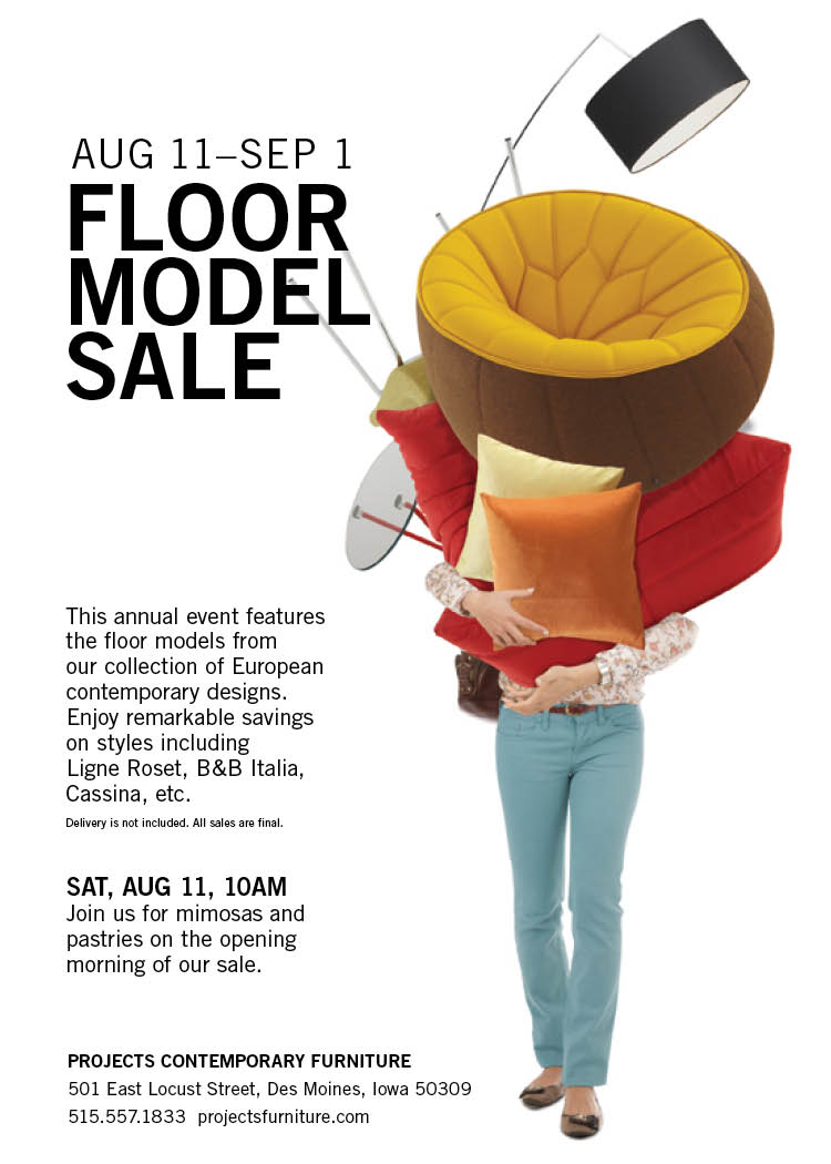 Annual Floor Model Sale 2018