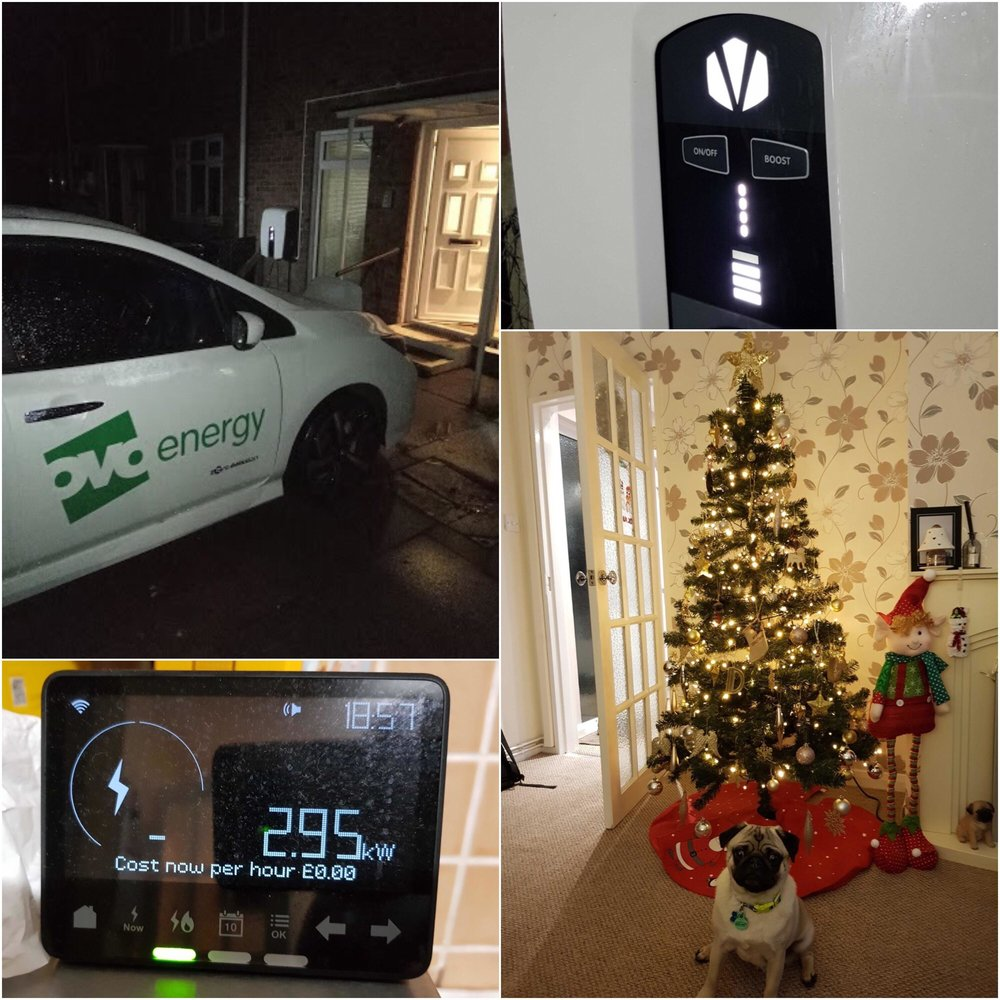 The world's first V2G powered Christmas tree! -