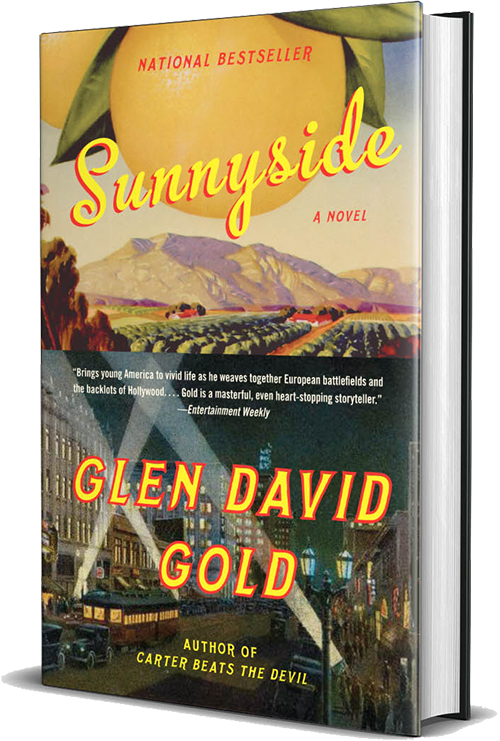 sunnyside, glen david gold, book, novel