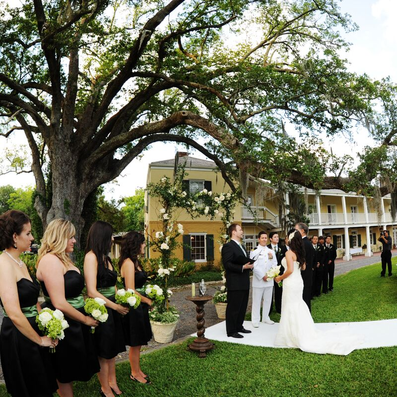 weddings — Ormond Plantation