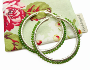 Large Wrapped Hoops