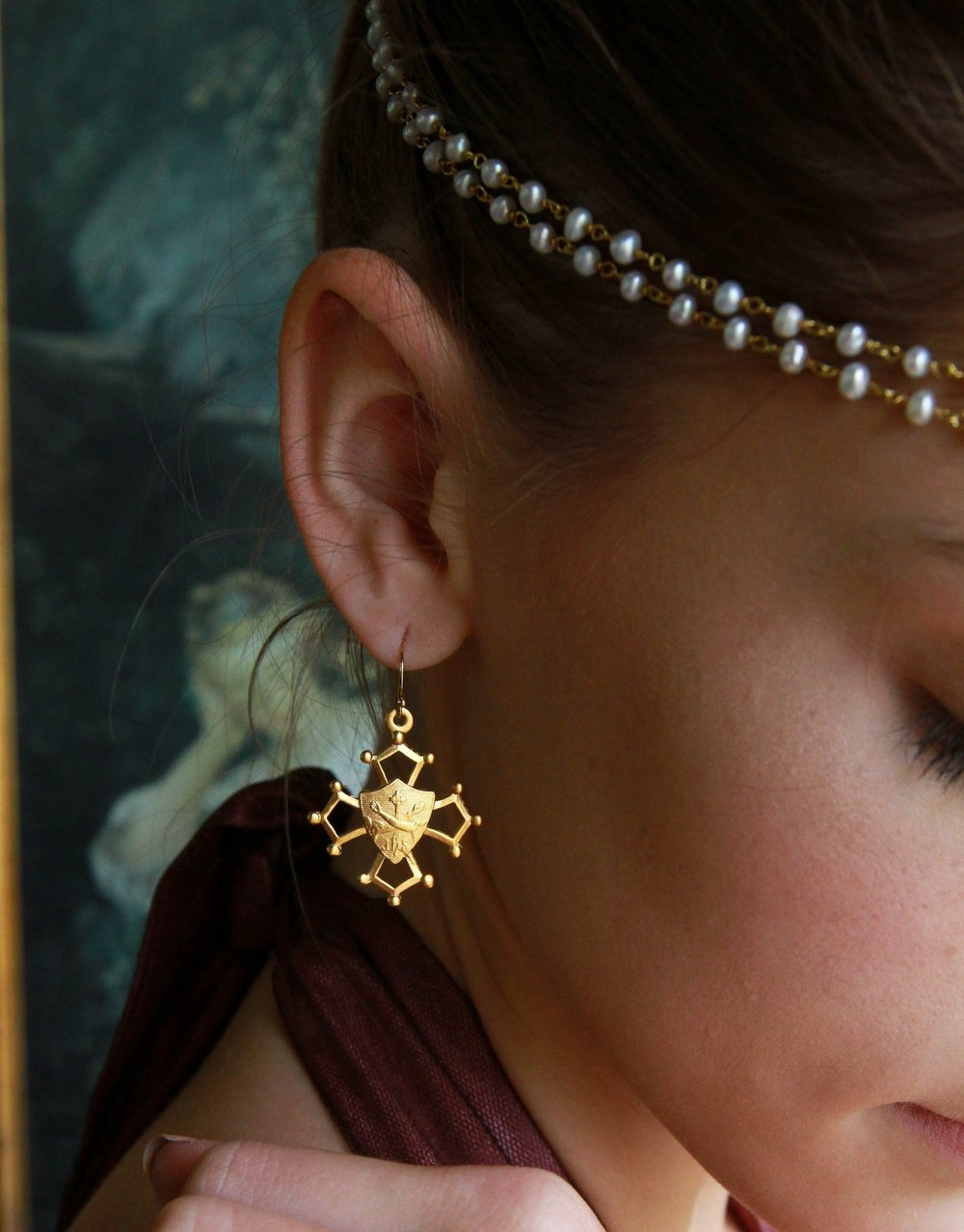 Franciscan Earrings