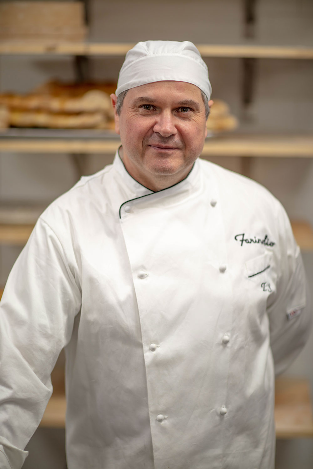 Head Baker Tonino Salvatori