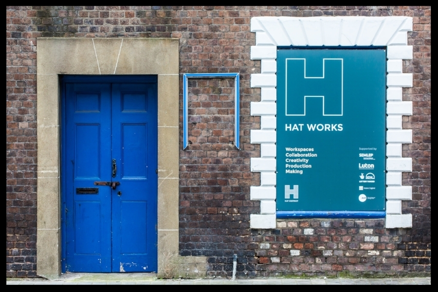 Hat Works, The Hat District, Luton 2018