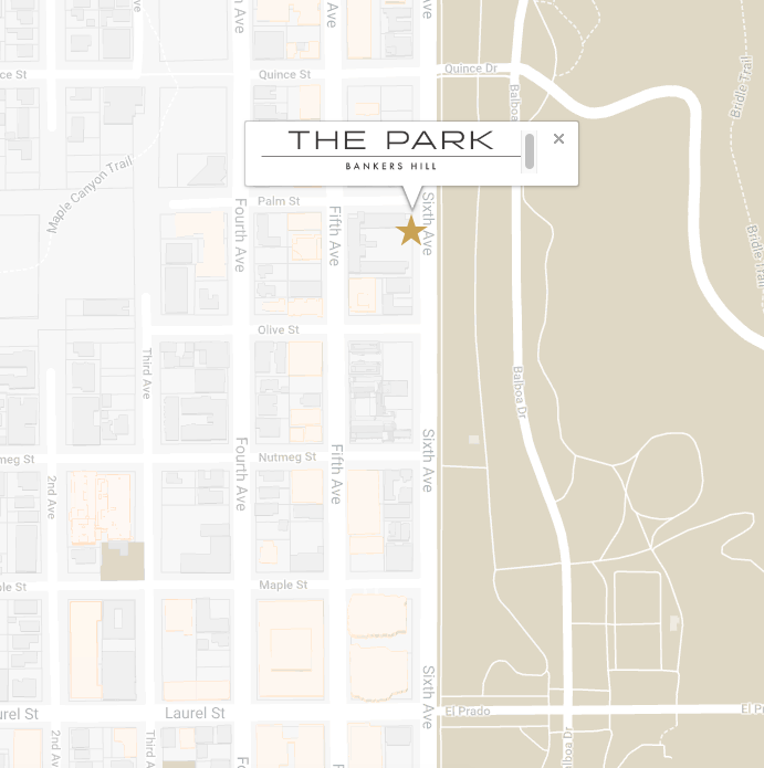 THE PARK BANKERS HILL MAP