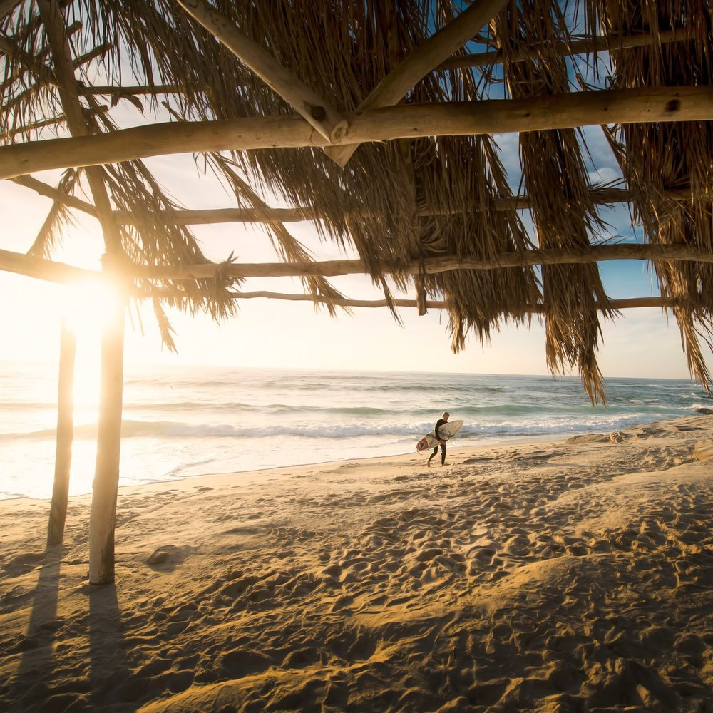 - beach