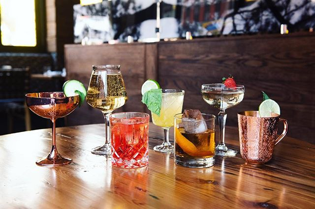 We know you miss us. And we miss you too. Just focus on how beautiful these drinks look...you'll get to taste them soon 🥒 🍊🍓 🍋🌱 . . . #enticing #beautiful #instadrinks #bar #nycbar #cocktails #craft #craftcocktails #bestbar #nyc #alcohol #wow #ig #instagood #instafood #countdown #thewoodlot