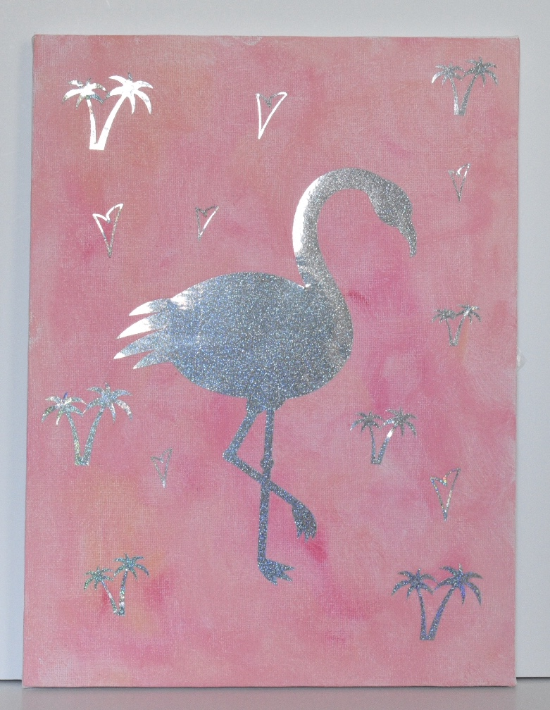 Pink Rainbow Flamingo