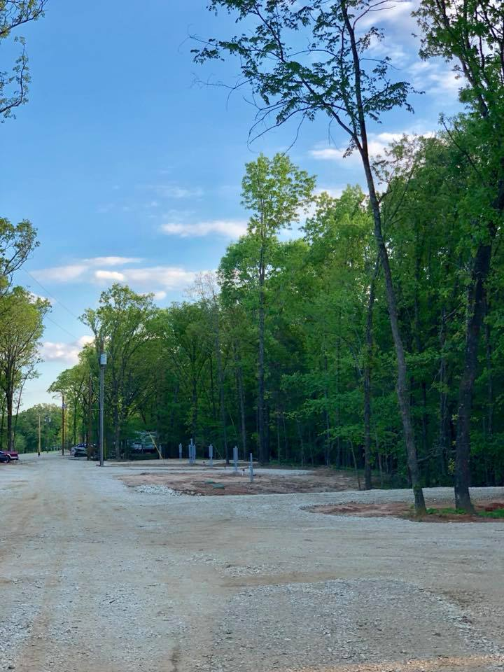 Located near the future  Bois D' Arc Lake    in a beautiful wooded scenic park.