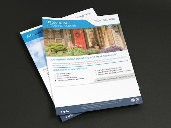 Co-branded flyers for you and your realtor.