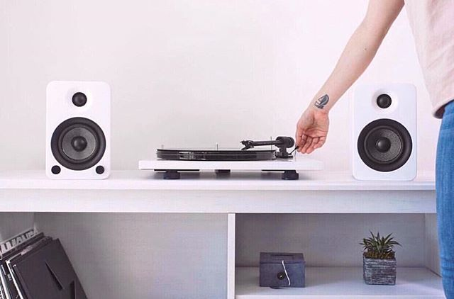 ⚡️FLASH SALE⚡️ Save $80 on your speakers today only! Our @kantoaudio YU4 Powered Speakers are on sale— ready to make your setup look and sound great. 🎶  Check the store link in our bio. . . . . . . . . . #kantoaudio #vinyl #vinylsetup #audio #speakers #bluetooth #vinylgram #turntable #recordplayer #recordsetup #pinkfeed