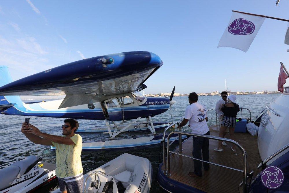Charter seaplane tours