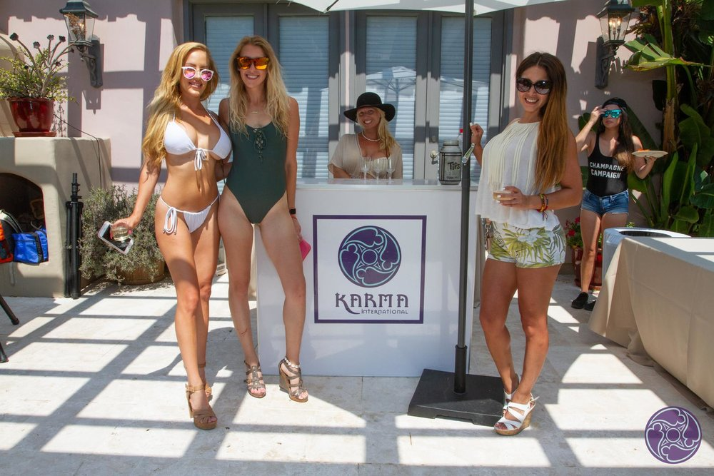 Karma International Pool Party by San Diego Creative Events-Champagne Bar with branding.jpg