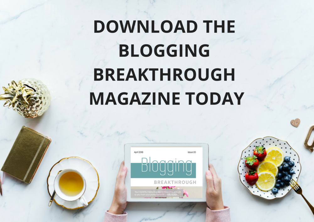 BLOGGING BREAKTHROUGH MAGAZINE