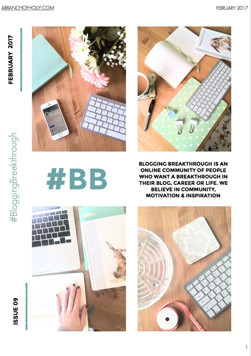 blogging breakthrough february 2017 issue 09