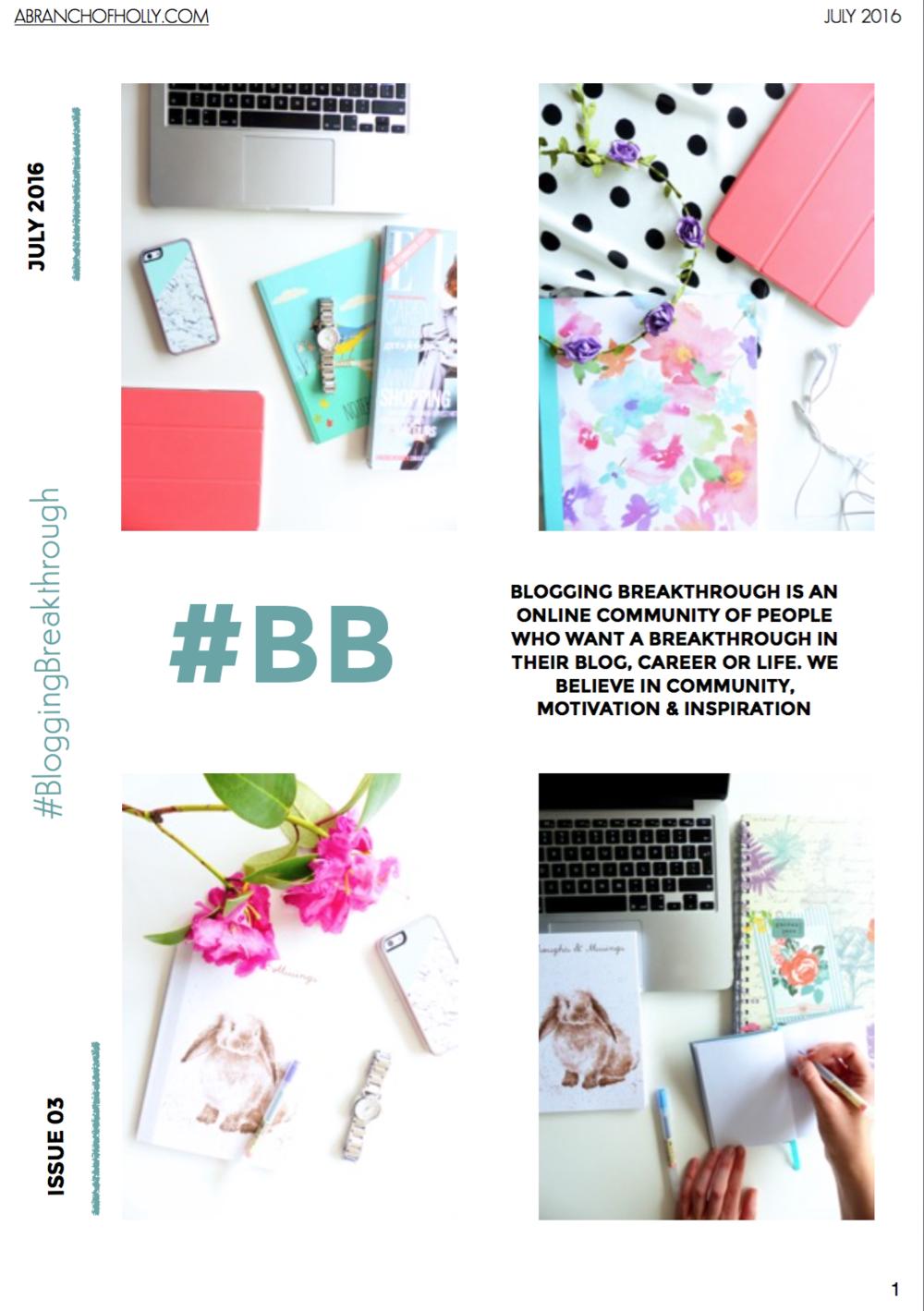blogging breakthrough july 2016 issue 03