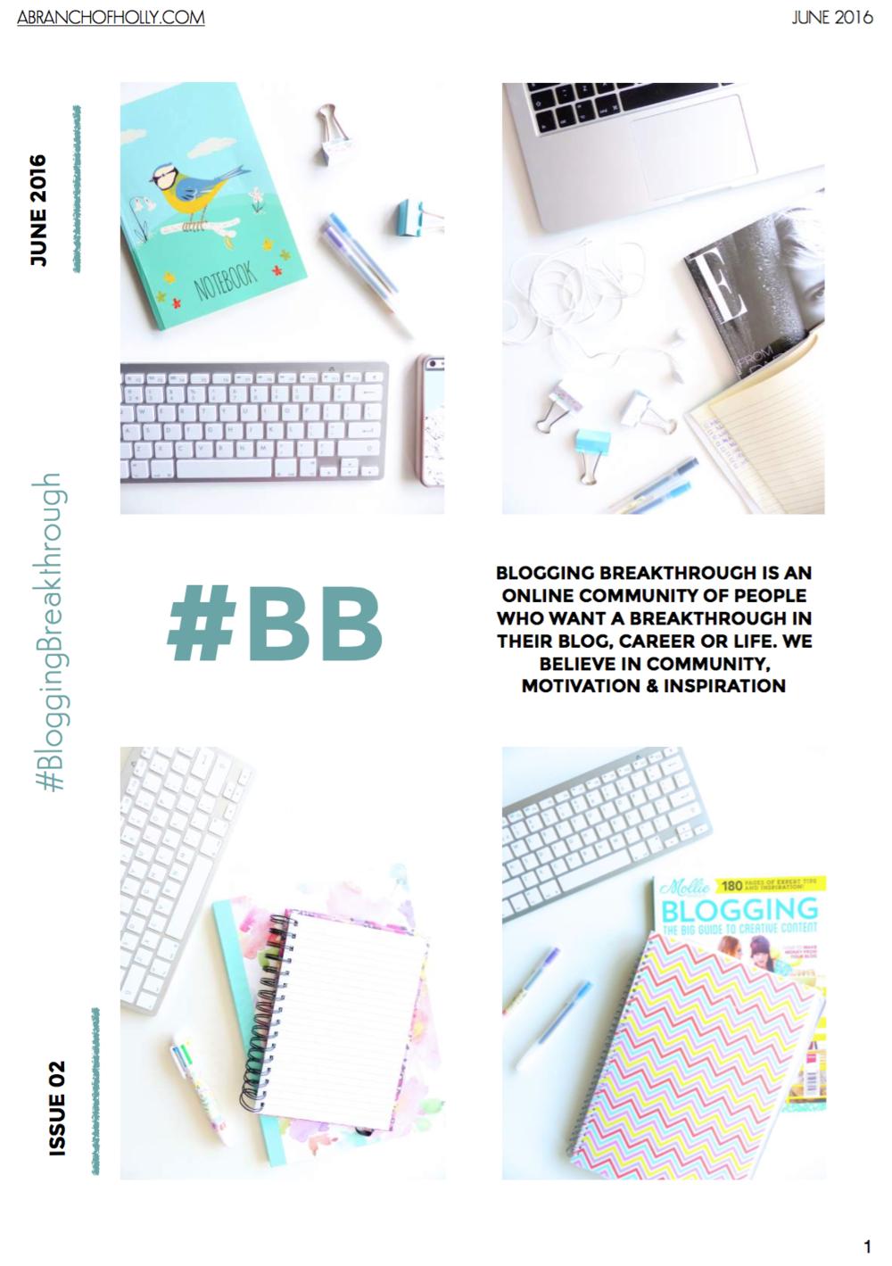 blogging breakthrough june 2016 issue 02