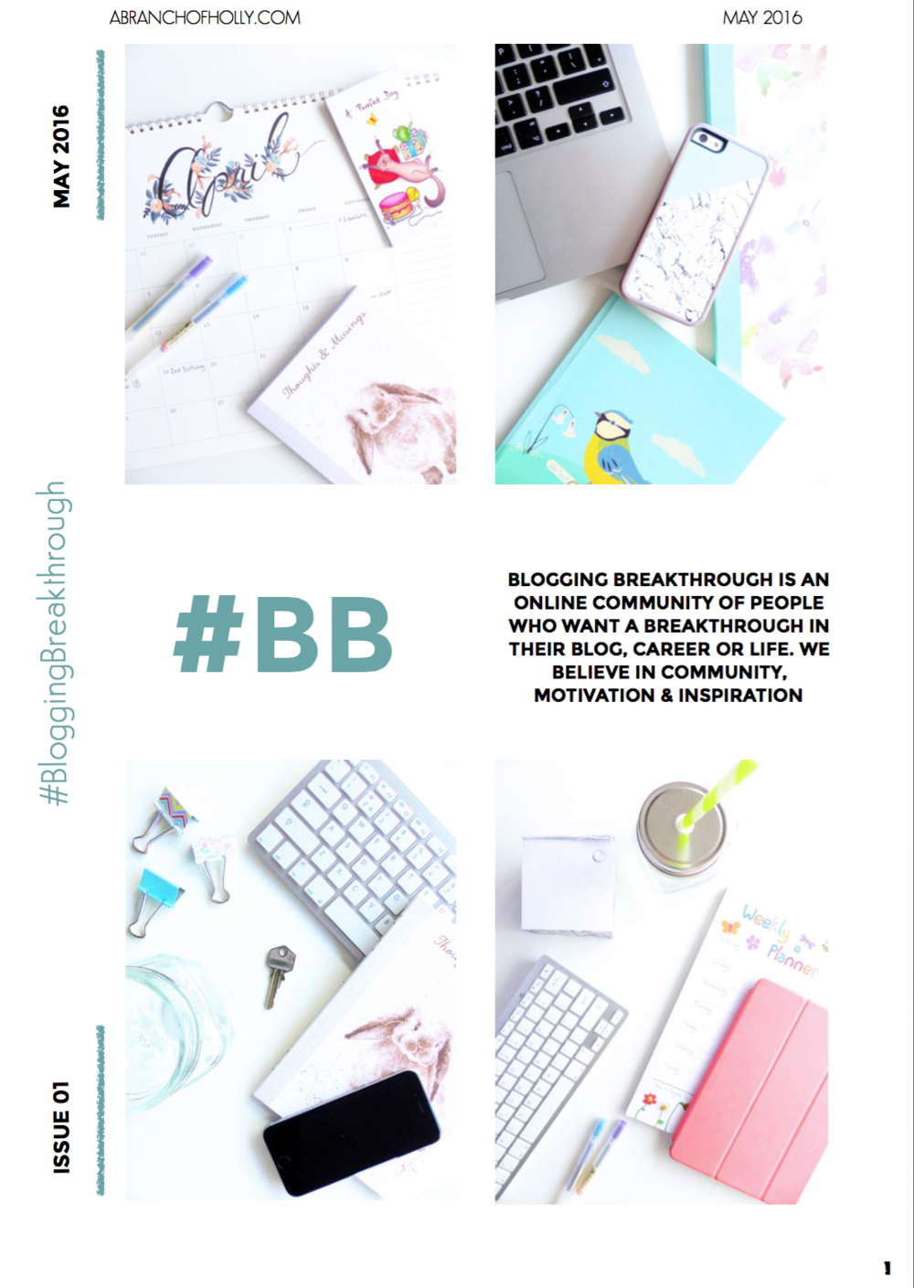 blogging breakthrough may 2016 issue 01