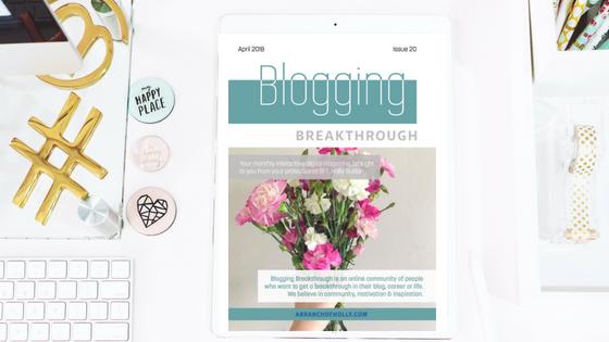 download the blogging breakthrough magazine