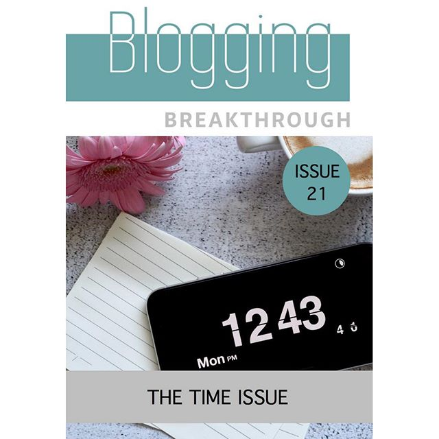 COVER REVEAL 🙌 Welcome to the brand new issue of Blogging Breakthrough! We've got a new design, new contributors and a whole load of other new features we can't wait for you to see. Hits inboxes at 10am so head to the link our bio so you don't miss out! 💚🌟