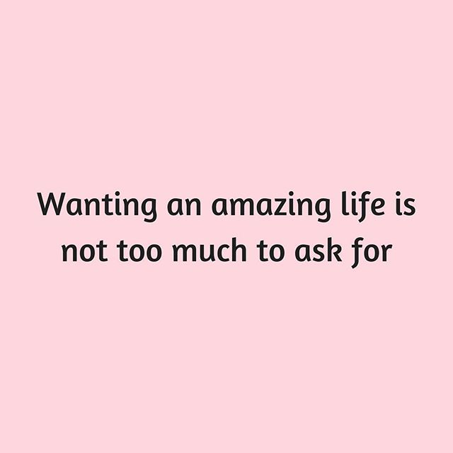 You deserve an amazing life. There is nothing wrong with wanting more. If you want something, go after it. We're rooting for you 🌿💚