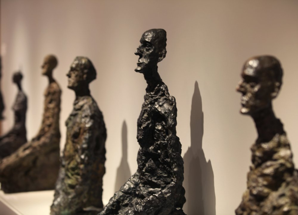 Alberto Giacometti for Mitchell-Innes & Nash Gallery NYC