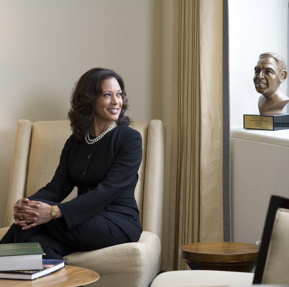 Kamala Harris for C Magazine