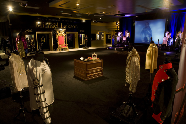 Michael Jackson Exhibition for Julien's Auctions, Los Angeles
